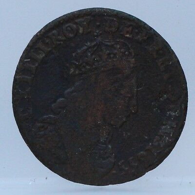 France - Frankrijk : 1 Liard 1655 E - LOUIS XIV - KM#192.6 Tours