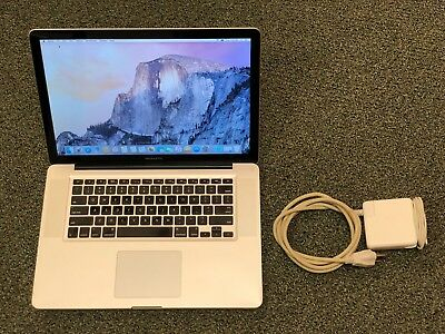 Used Macbook Pro >> Used Apple Macbook Pro Core I5 2 4ghz 15 320gb 4gb Ram A1286 Mid 2010 Mb1