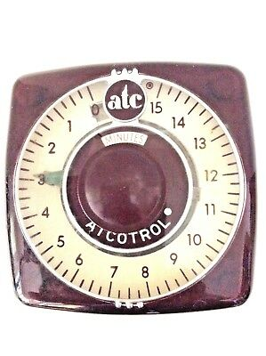 Vintage Atcotrol Atc Minute Type 305 Automatic Timing & Control