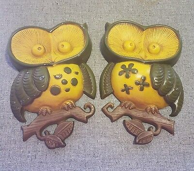 Funky Owl Metal Wall Decor Picture Collection - Wall Art Collections ...