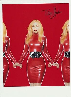 Traci Lords Authentic Signed Autograph Montreal Comiccon 2014 Cry-Baby Blade Coa