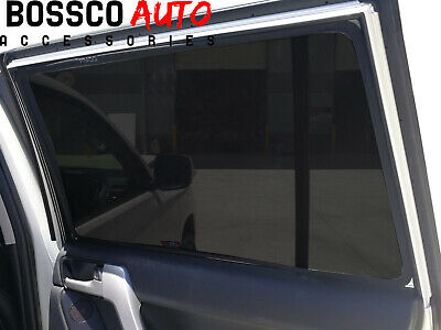 Magnetic Window Sun Shades suitable for Toyota Landcruiser 200 Series 2008-2018