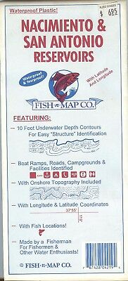 Fish-n-Map Co. NACIMIENTO & SAN ANTONIO RESERVOIRS California