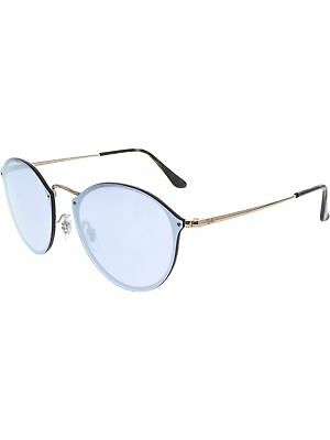 Ray-Ban Women's Polarized Blaze Round RB3574N-90351U-59 Matte Bronze Sunglasses