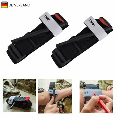 2x Military Red tip tourniquet unwrapped, Israeli Bandage, Gloves First Aid