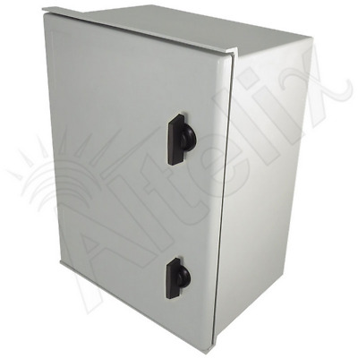Altelix 16x12x8 Fiberglass NEMA Box 3X Weatherproof Outdoor Equipment Enclosure