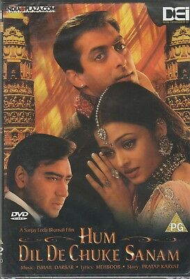 Hum Dil De Chuke sanam- Salman Khan  [2Dvds set]1st Edition Eros Released