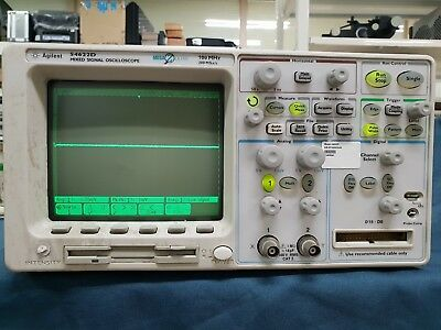 HP/Agilent_54622D: +16 Channel, 100 MHz Mixed-Signal Oscilloscope