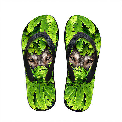 a168972bdcec6f New Animals Mens Flip Flops size 10 Summer Sandals Shoes Beach Bath Thong  Flat