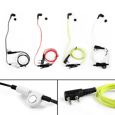Headset Earpiece For Kenwood BAOFENG TYT LINTON UV-5R TG-UV2 Two Way 4Colors A1