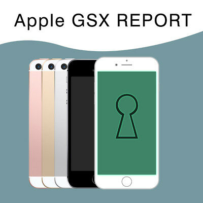 APPLE GSX REPORT Next Tether Carrier/SIM Lock for iPhone | (Instant to 30  Mins)