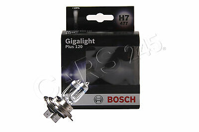 Bosch H7 Gigalight Plus 120% Halogen Headlight Bulb PX26d 1987301107