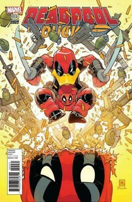 Deadpool the Duck #4 1:25 Variant Cover by Will Robson