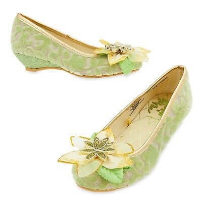 Shop Disney Store Tiana Princess Frog Costume Shoes Dress Up New RETIRED