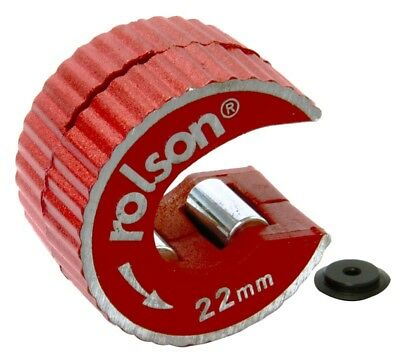 Rolson 22mm Copper Pipe Cutter Rotary Action - 22406