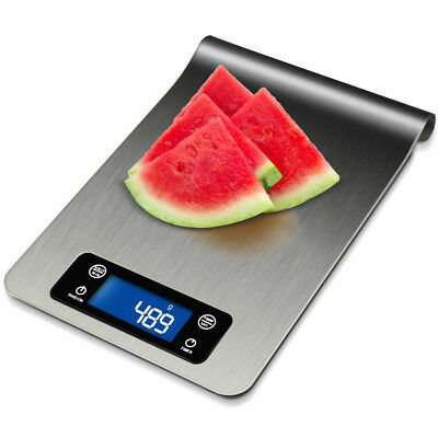 LCD 5kg Stainless Steel Digital Electronic Kitchen Cooking Food Weighing Scales