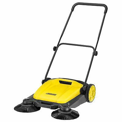 """Karcher 1.766-303.0 S650 Outdoor Manual Sweeper 21"""" With Dual Side Brooms"""