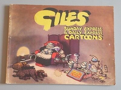 Giles Series 6 first edition annual, 1952, Daily Express Publications