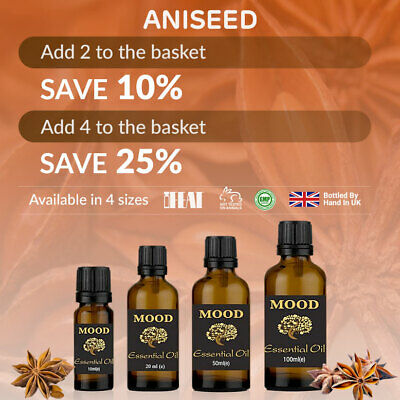 Essential Pure Oil Aniseed Oils Aromatherapy Natural Anise Fragrances Diffuser