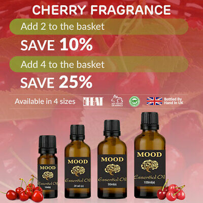 Cherry Fragrance Oil Natural Home Fragrances Candle & Soap Making