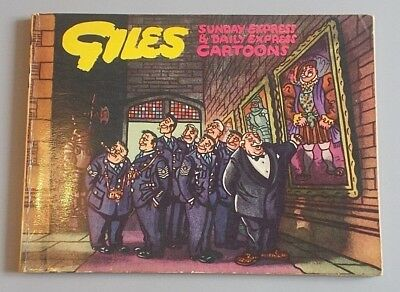 Giles Series 8 first edition annual, 1954, Daily Express Publications