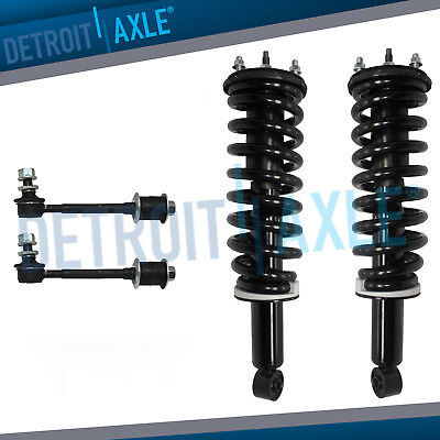 Pair of Front Strut Coil Spring & Sway Bar Kit for 2000 2001 2002 Toyota Tundra