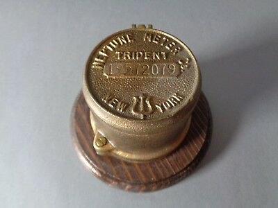 Neptune Meter Company Trident  New York Brass Meter Cover Box Container