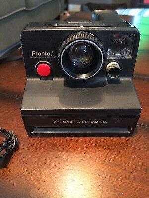 Vintage Polaroid Pronto Land Camera Instant Film Camera Works