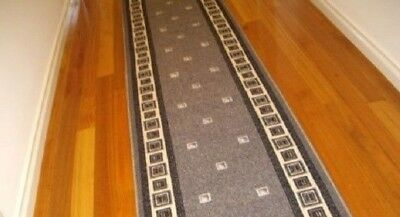 Hallway Runner Hall Runner Rug Modern Grey 7 Metres Long We Can Cut To Size 7464