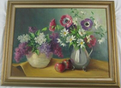 Still Life with Flowers Oil Painting