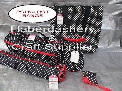 Birch Storage Bags Polka Dot 5 Pieces Ideal Starter Package