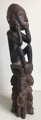 Antique African Carved Dogon Tribal Figure, Mali, Burkina Faso Estate Collection