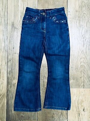 Ted Baker Girls Jeans Denim Trousers. Sequin details. Size 6 years.