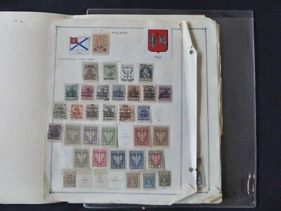 Poland and BOB 1918-1940 Mint/Used Fabulous Stamp Collection on Scott Int Album