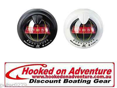 Mini-Contest Sailboat Compasses RWB8054 Black Compass Red Card