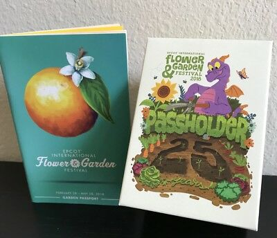 2018 EPCOT Flower And Garden Festival Magicband Magic Band Figment Passholder LE