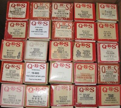 Twenty Five Qrs Rolls In Good Condition Lot 21