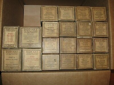 Group Of Duo-Art Reproducing Piano Rolls Lot 2