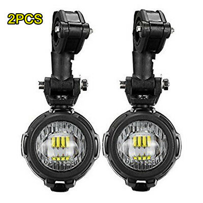 For BMW R1200GS ADV F800GS LED 40W Auxiliary Lights Assembly Replace DRL lights