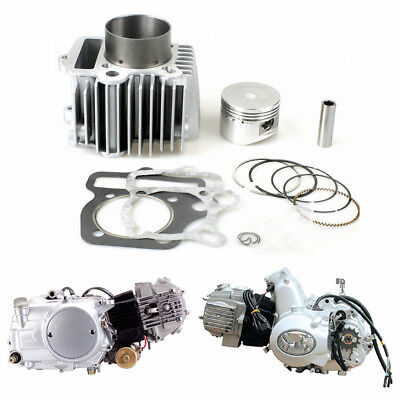 Big Bore Kit 110cc 125cc Cylinder Kit 54mm Piston Ring Gasket for Dirt Pit ATV