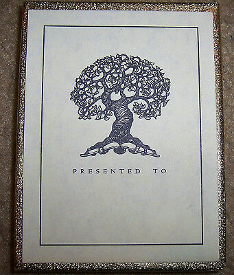 """Antioch Publishing Bookplates """"TREE OF KNOWLEDGE""""  50 Gummed Bookplate Labels"""