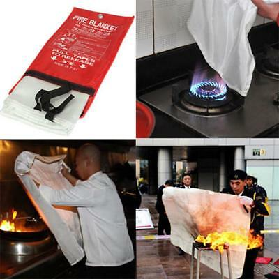 Fire Blanket Fiber Glass House Caravan Emergency Campers Survival 1 * 1M  Hot