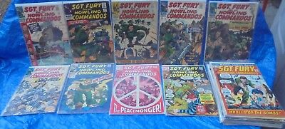 Marvel Comics Sgt. Fury & His Howling Commandos 28 Issue Lot 22 26 31 32 + More