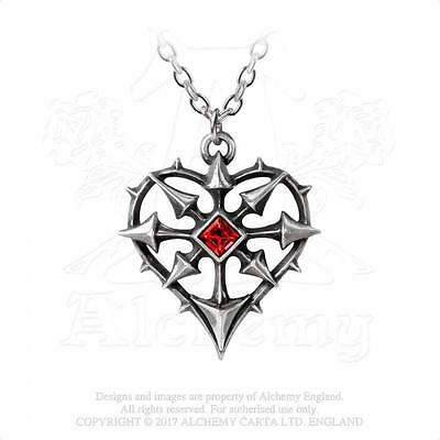 Alchemy Gothic - entropassio Pendentif - Chaos passion Amour