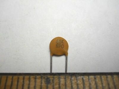D61 NOS,New Old Stock QTY 25 ea 120 pf 1K +//-10/% Disc Ceramic Capacitor