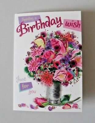 Open Female  Birthday Cards