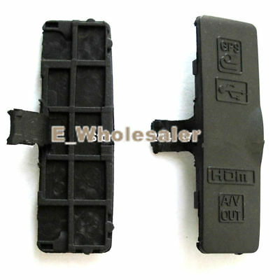 New For Nikon D3100 Video Out Cap HDMI DC IN Cover USB Rubber Repair Part