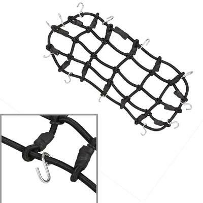 Luggage Net+Tow Hook Trailer Chain+Winch Anchor for 1/10 RC D90 D110 Trucks