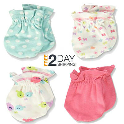 Gerber Baby Mittens Newborn New Born Girl Set Infant Lot Pink Cute Clothes Gift