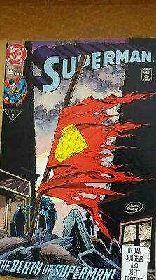 The Death of Superman - January 1993